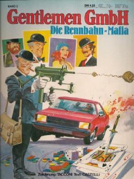 Gentlemen GmbH  Band 2, RENNBAHN - Mafia