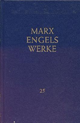 Werke, Band 25: Das Kapital, Band 3