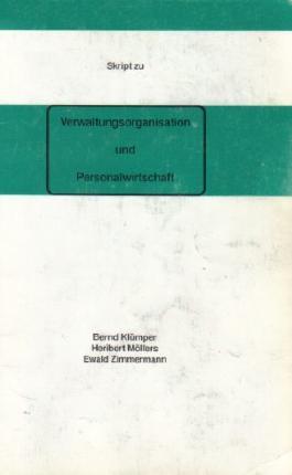 Skript zur Verwaltungsorganisation und Personalwirtschaft