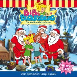 Die Weihnachtsmänner (Bibi Blocksberg 38)