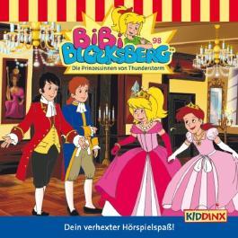 Die Prinzessinnen von Thunderstorm (Bibi Blocksberg 98)