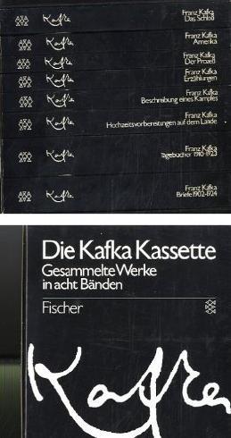 Kafka Kassette - Gesammelte Werke in acht Bänden