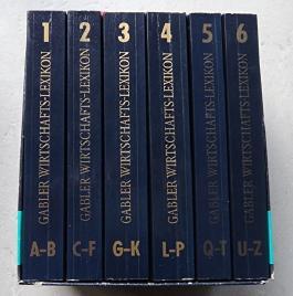 Gablers Wirtschaftslexikon. 6 Bände / 12. völlig neu bearbeitete und erweiterte Auflage. Im Schuber.