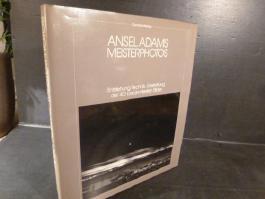 Adams, Ansel Meisterphotos. Entstehung, Technik, Gestaltung der 40 berühmtesten Bilder. OLn. OU.