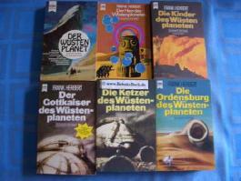 Wüstenplanet-Serie / Dune-Zyklus - 6 Bände komplett.