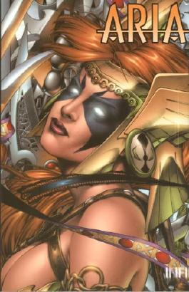 Aria / Angela (Variant Cover-Edition »Comic Action« 2001)