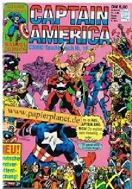 Captain America Comic Taschenbuch 10 (mit Iron Man) Condor Marvel Comics.