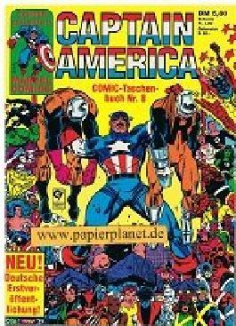 Captain America Comic Taschenbuch 8 (mit Iron Man) Condor Marvel Comics.
