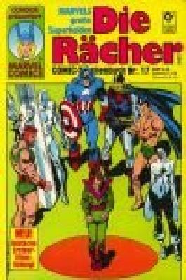 Die Rächer Comic-Taschenbuch 17 Condor Marvel Comics. Marvels große Superhelden .