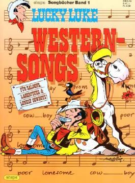 Ehapa Songbücher Comic Album # 1 - LUCKY LUKE Western-Songs (Lucky Luke)