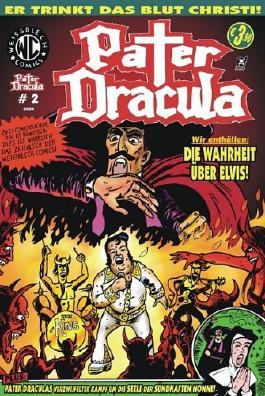Weissblech Comics: Pater Dracula Comic 2 - Die Wahrheit über Elvis