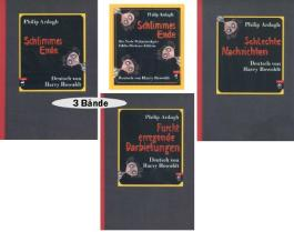 Die Noch Wahnsinnigere Eddie-Dickens-Edition: Schlimmes Ende / Schlechte Nachrichten / Furcht erregende Darbietungen. 3 Bände im Schuber