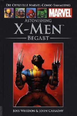 Die offizielle Marvel- Comic- Sammlung: Astonishing X- Men - Begabt (2013, Hardcover, Hachette)