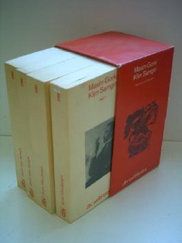 Maxim Gorki: Klim Samgin [Band 1 bis 4]