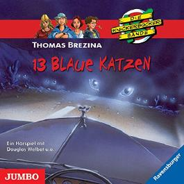 13 blaue Katzen (Die Knickerbocker-Bande 42)