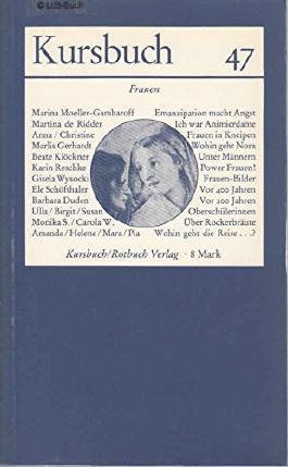 Kursbuch 47, 1977, Frauen