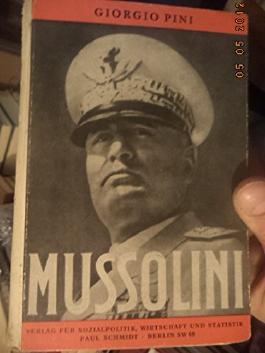Benito Mussolini - Biographie