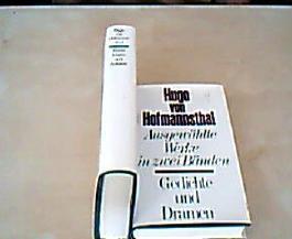 Ausgewählte Werke in zwei Bänden (1. Band: Gedichte und Dramen, 2. Band: Erzählungen und Aufsätze)