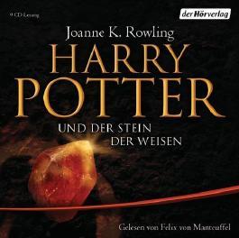 Harry Potter und der Stein der Weisen: Gelesen von Felix von Manteuffel von Rowling. Joanne K. (2009) Audio CD