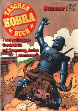 Kobra Taschenbuch Nr. 1 (1. Serie) Comic