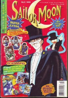 Sailor Moon - Das Mädchen mit den Zauberkräften - Nr. 3 / 1999 - ohne Extra
