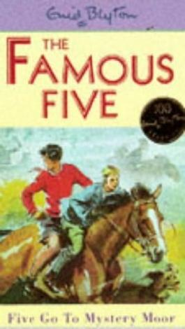 Famous Five: 13: Five Go To Mystery Moor by Blyton, Enid (1997) Paperback