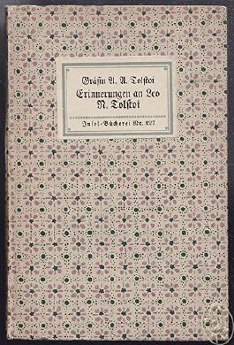 Erinnerungen an Leo N.Tolstoi