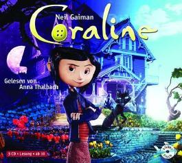Coraline: 3 CDs von Gaiman. Neil (2009) Audio CD