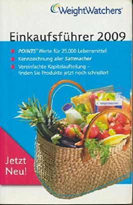 WeightWatchers Einkaufsführer 2009
