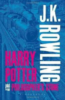 Harry Potter and the Philosopher's Stone (Harry Potter 1 Adult Cover) by Rowling, J.K. (2013) Paperback