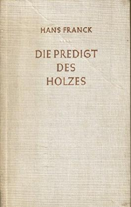 Die Predigt des Holzes Novelle - persönlich vom Autor signiert und datiert 1962
