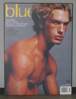 (Not Only) Blue Magazine: Issue No. 35, October, 2001