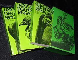 Der Herr der Ringe. 3 Bände. Aus d. Englischen v. Margaret Carroux. Gedichtübertragungen v. E.-M. v. Freymann.
