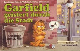 Garfield geistert durch die Stadt Sein Buch zum 2. Film