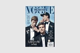 VOGUE Hommes International Paris 21 S/S 2015,Benjamin Eidem,Clement Chabernaud,Tim Schuhmacher