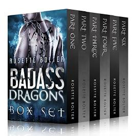 Badass Dragons: The Complete Set