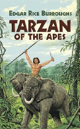 Tarzan of the Apes (Dover Thrift) by Edgar Rice Burroughs (1997) Paperback