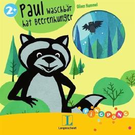 Paul Waschbär hat Beerenhunger - Pappbilderbuch: PiNGPONG von Oliver Hummel (Illustrator) (6. August 2012) Pappbilderbuch