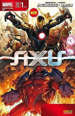 Avengers & X- Men: Axis #1 - **Marvel Mega- Event 2015** (2015, Panini)