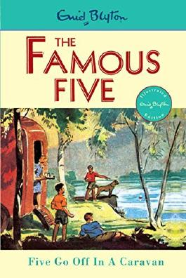 Famous Five: 5: Five Go Off In A Caravan by Enid Blyton (Illustrated, 19 Mar 1997) Paperback