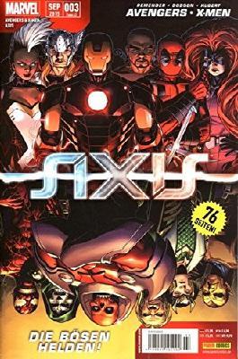 Avengers & X- Men: Axis #3 - **Marvel Mega- Event 2015** (2015, Panini)