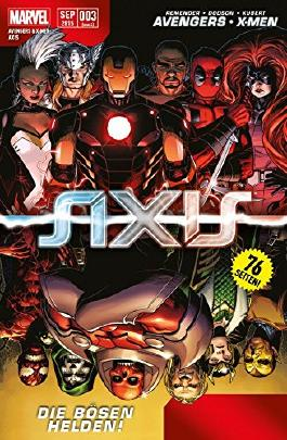 Avengers & X- Men: Axis #3 - **Marvel Mega- Event 2015** (2015, Panini)