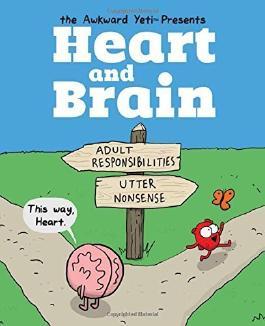Heart and Brain: An Awkward Yeti Collection by The Awkward Yeti (2015-10-20)