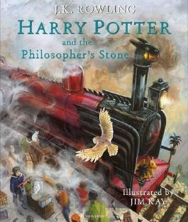 Harry Potter and the Philosopher's Stone: Illustrated Edition (Harry Potter Illustrated Editi) by J.K. Rowling (2015-10-06)