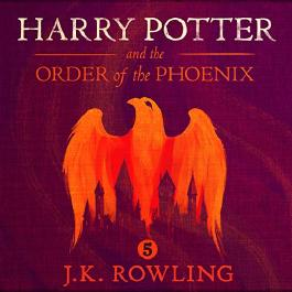 Harry Potter and the Order of the Phoenix, Children's cover, Part 1