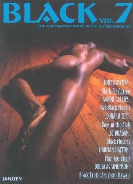 Black: The African Male Nude in Art and Photography (v. 7) by Janssen Publishers (2008-02-28)