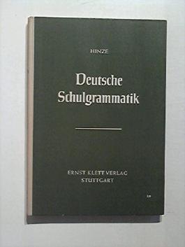 Deutsche Schulgrammatik.