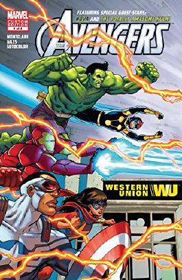 Avengers Ft. Hulk & Nova (2016) #1 (of 4)