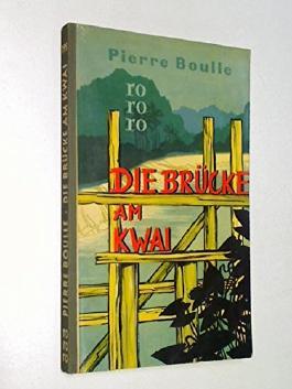 Die Brücke am Kwai, 1958 , rororo Taschenbuch mit Leinenrücken 195
