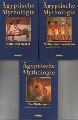 """Ã""""gyptische Mythologie in 3 Bänden: Kulte und Orakel / Mythen und Legenden / Die Götterwelt / by Günther Roeder (1999-09-05)"""
